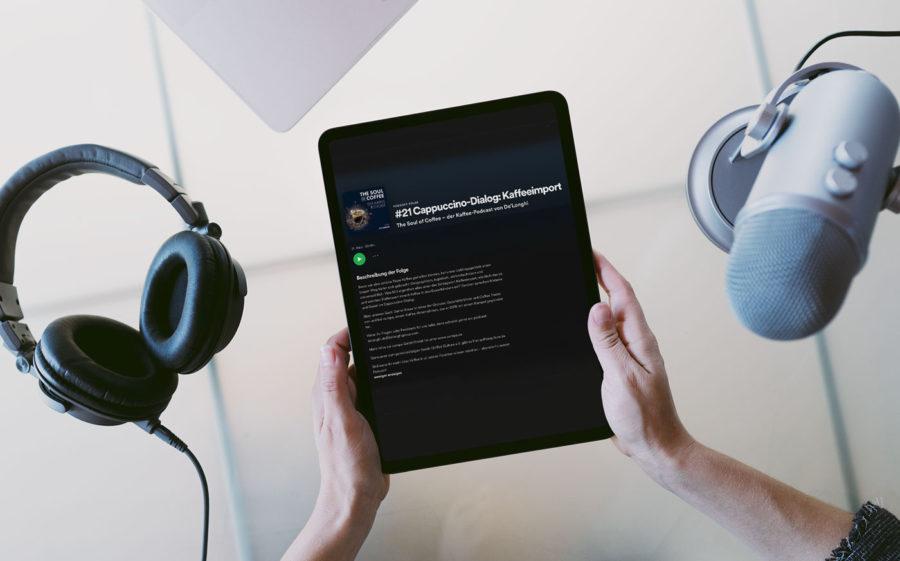 Daniel bei The Soul of Coffee – dem Kaffee-Podcast von De'Longhi: #21 Cappuccino-Dialog: Kaffeeimport Vorschaubild